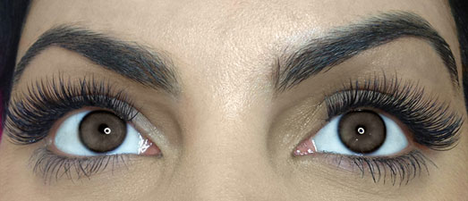 natural eyelash extension style