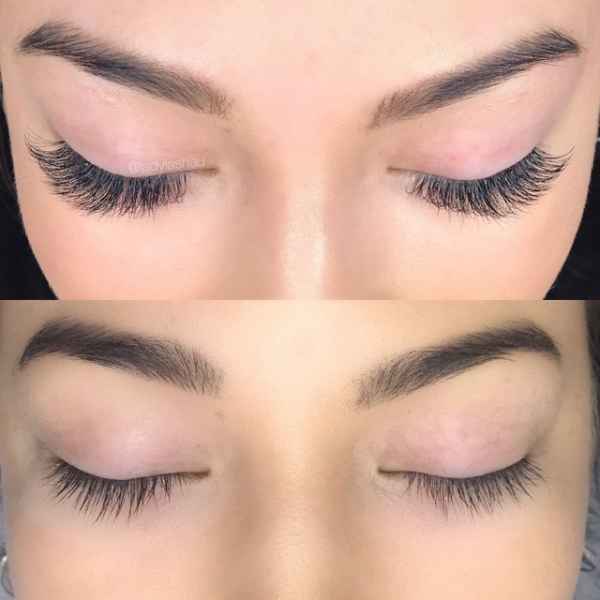 Before And After Eyelash Extensions Gallery Lady Lasheyelash