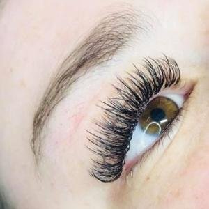 Glamour eyelash extension photo 1