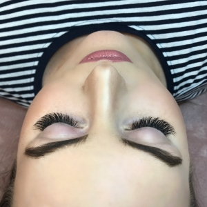 Glamour eyelash extension photo 10