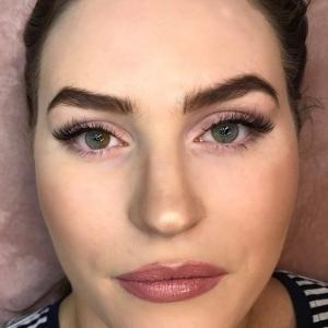 Glamour eyelash extension photo 11