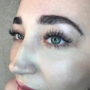 Glamour eyelash extension photo 13
