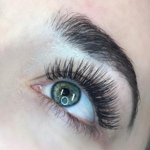Glamour eyelash extension photo 15