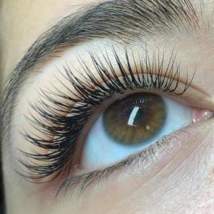 Glamour eyelash extension photo 2