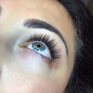Glamour eyelash extension photo 8