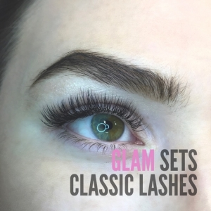 Glamour Set Eyelash Extensions 100