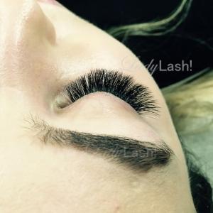 Maximum Russian Volume Eyelash Extensions 5D 6D at Lady Lash Newtown and Parramatta