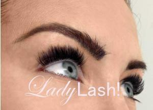 Mink, silk and synthetic lash extensions