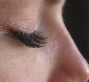 How do I clean eyelash extensions?
