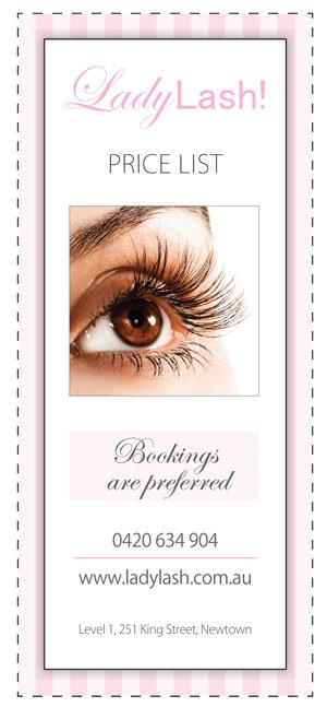 Lady Lash Eyelash Extension Prices 2015