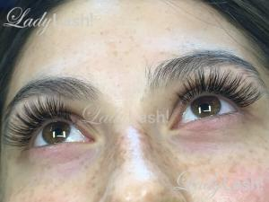 Russian Volume Eyelash Extensions 2D 3D at Lady Lash Newtown and Parramatta
