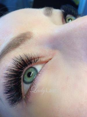 Russian Volume Eyelash Extensions 4D at Lady Lash Newtown and Parramatta