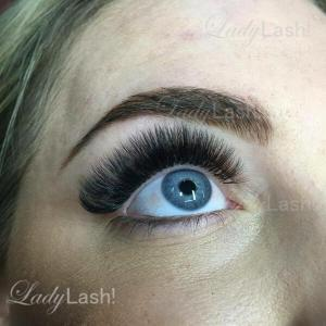 Russian Volume Eyelash Extensions 5D 6D at Lady Lash Newtown and Parramatta