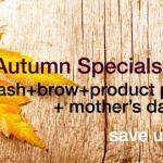 Autumn Specials at Lady Lash!