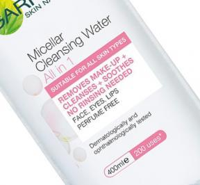 Micellar water and eyelash extensions