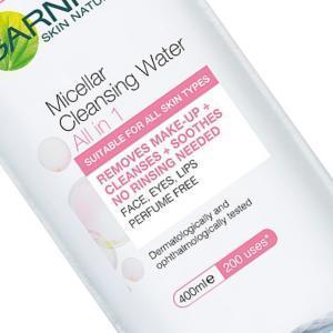 Micellar water and eyelash extensions