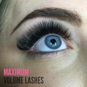 Eyelash Extension Maximum Volume Lash Photos