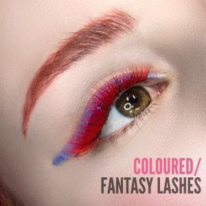 Eyelash Extension Coloured | Fantasy Lashes Photos
