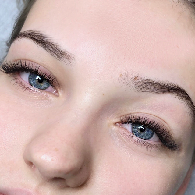 Before and After Eyelash Extensions Gallery @ Lady Lash!